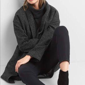 tweed grey coat